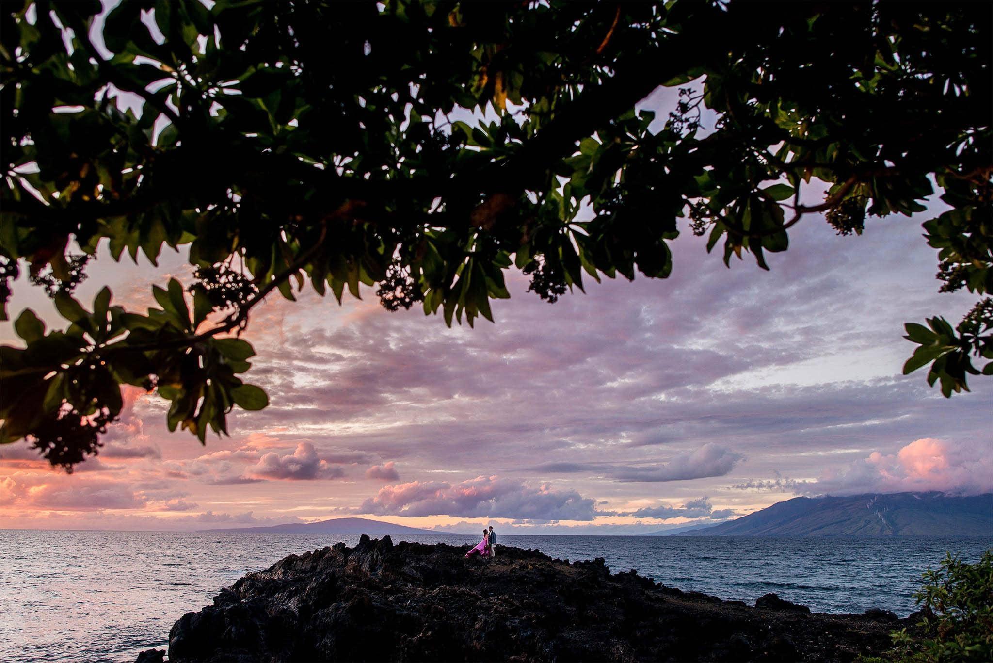 Maui wedding at Kukahiko Estate