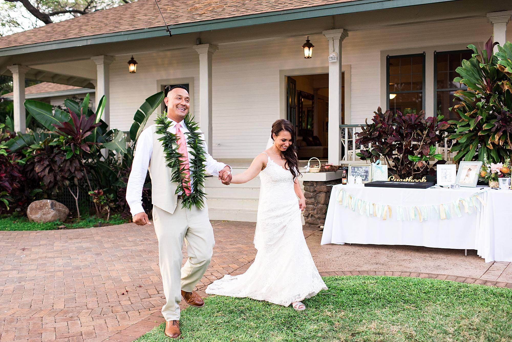 Maui wedding at Olowalu Plantation House_0119