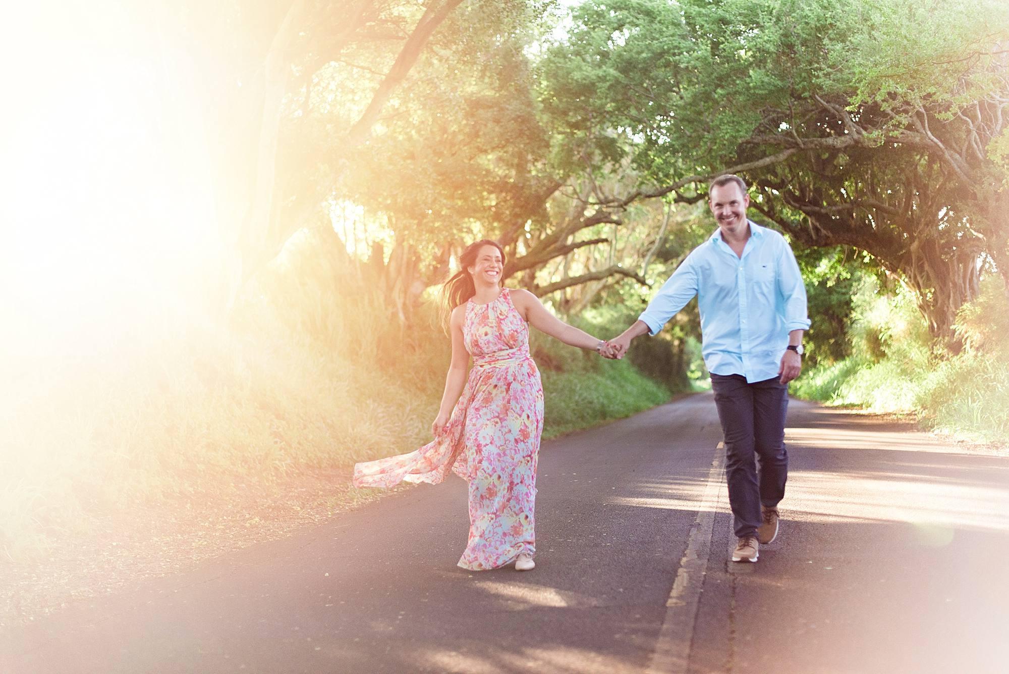 Romantic North Shore Maui Engagement_0013