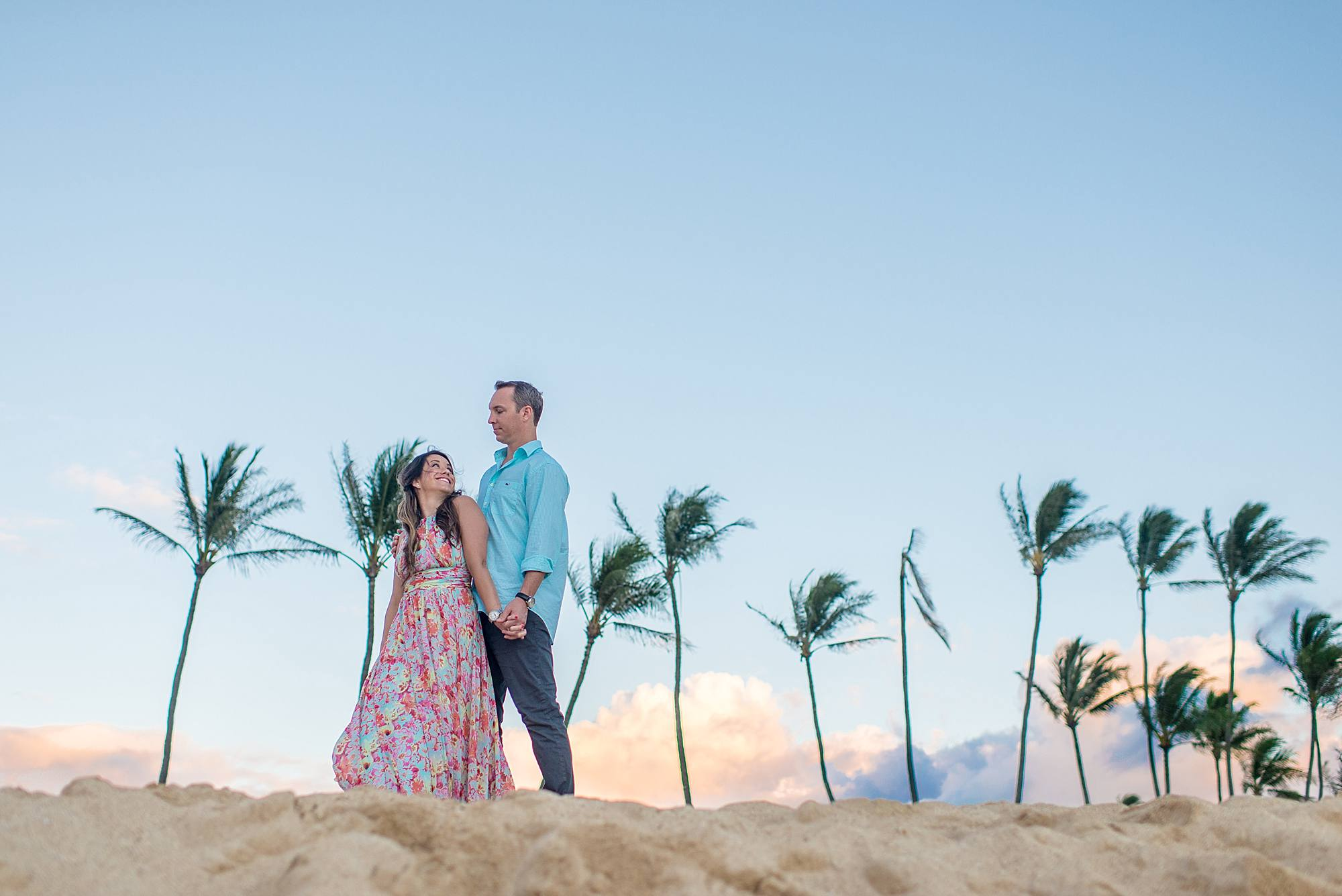 Romantic North Shore Maui Engagement_0017