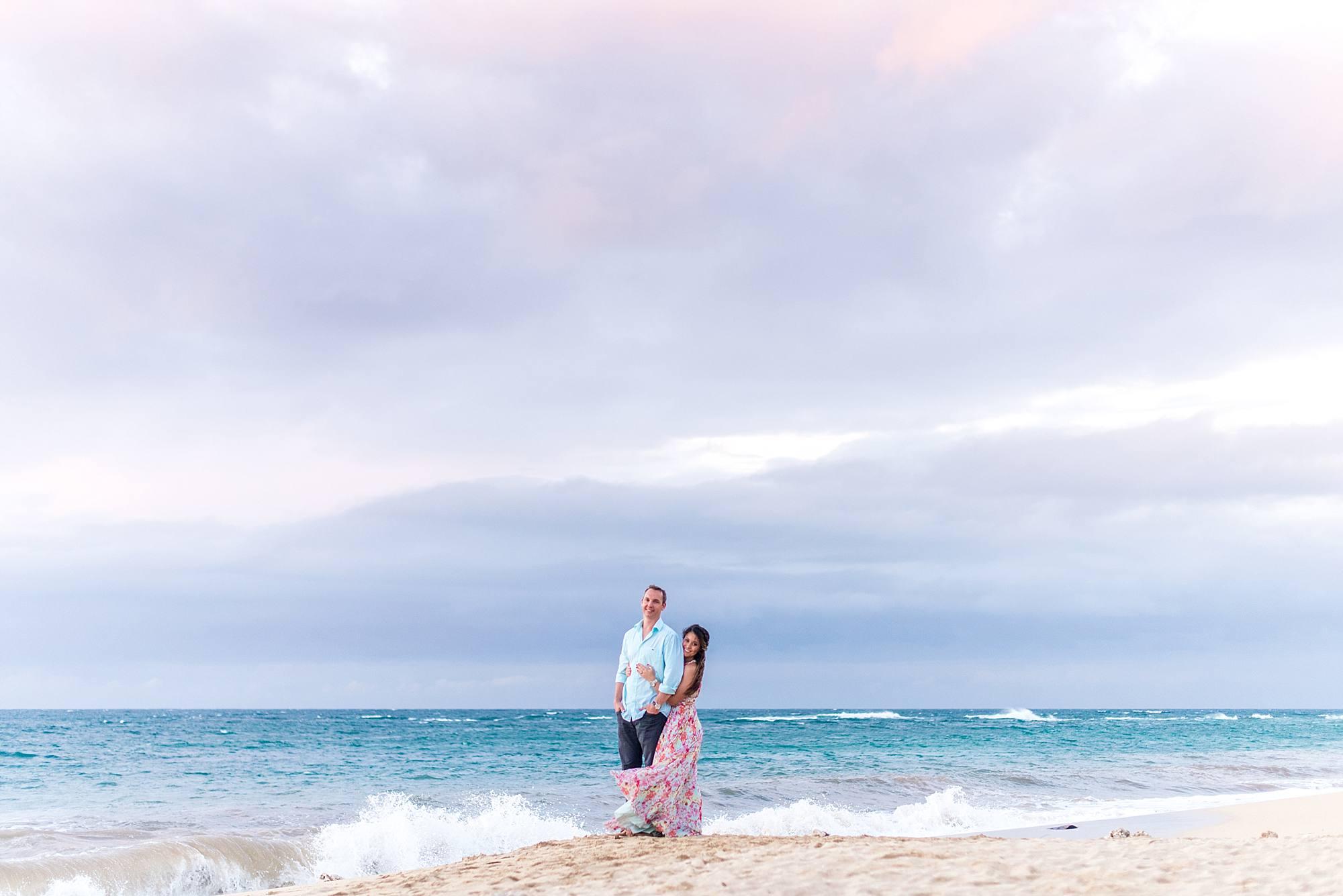 Romantic North Shore Maui Engagement_0020