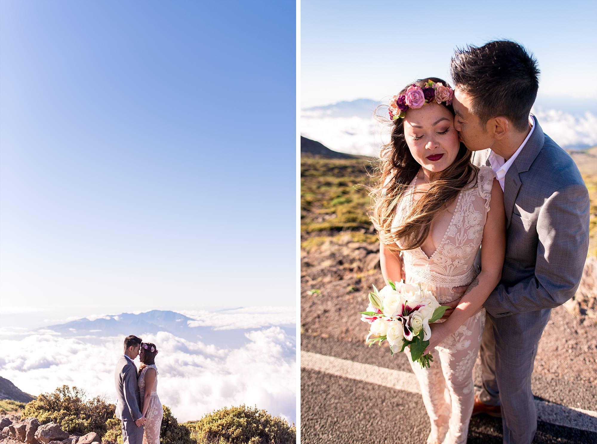 wedding photos, couple snuggling