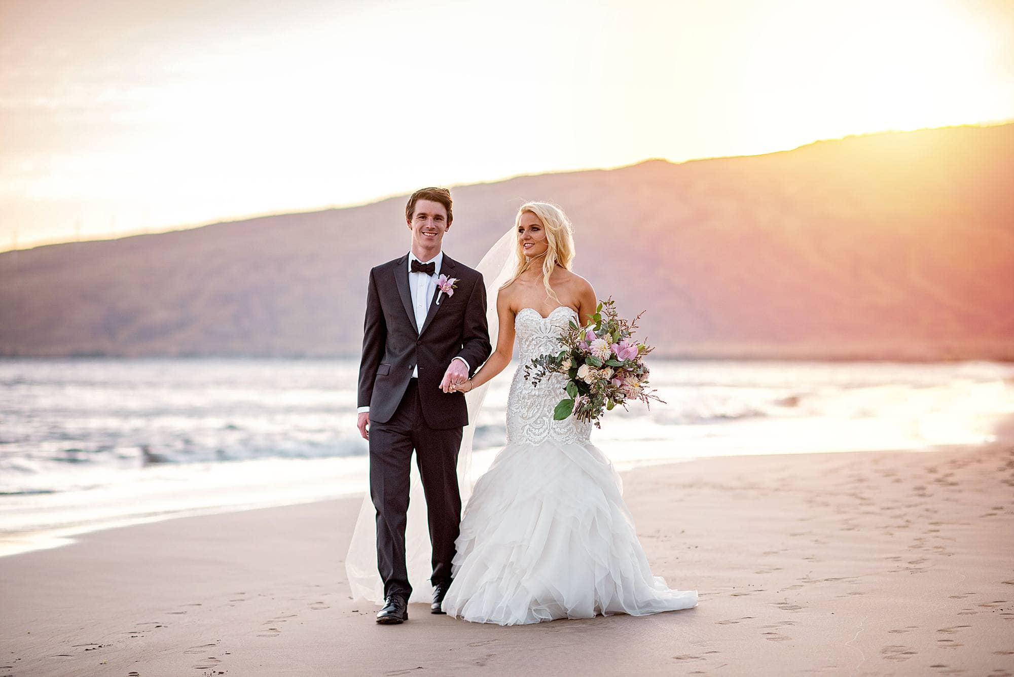 Luxurious Maui Wedding At Sugar Beach Events Angela Nelson Photography