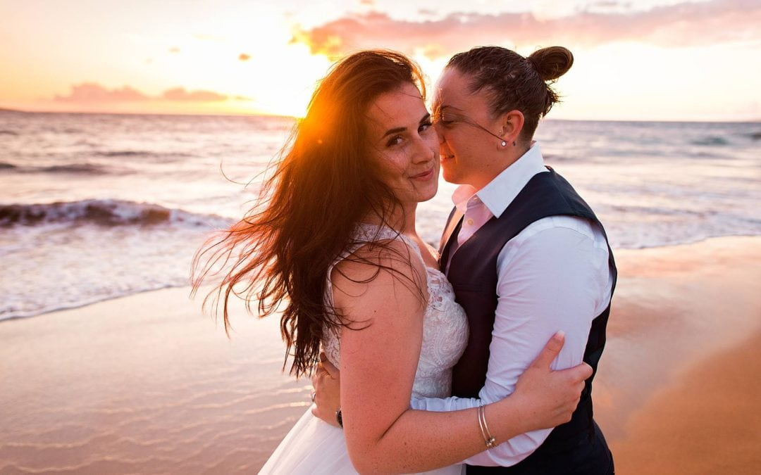 Honeymoon Portrait Session on Maui | Kayla + Lauren