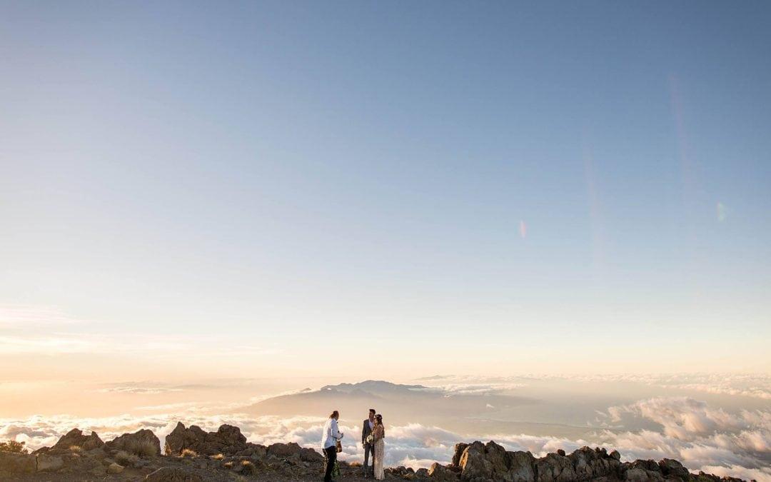 Haleakala Elopement   Michael + Khim