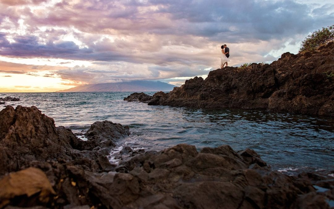 South Shore Maui Engagement Photo Session | Lexi + Stephen