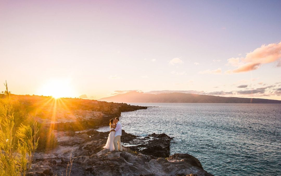Romantic West Maui Elopement | Sally + Jeff
