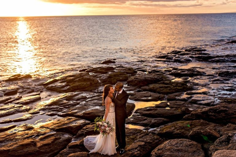 Intimate Maui Wedding at Merriman's | Jessie + Herman