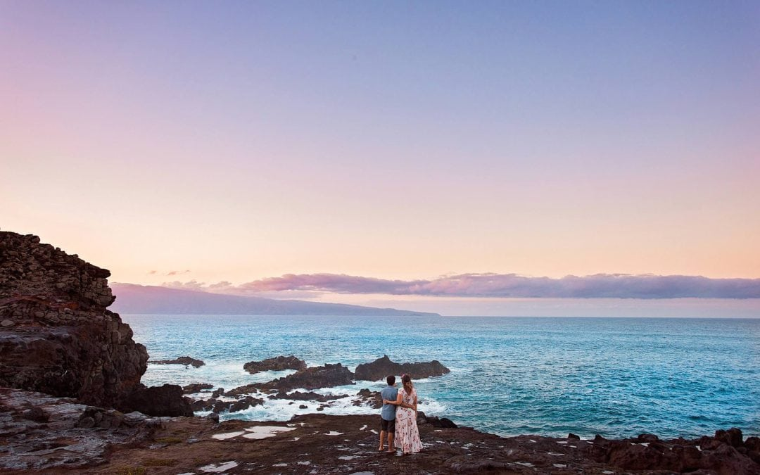 Adventurous Maui Engagement Session | Katie + Jasen