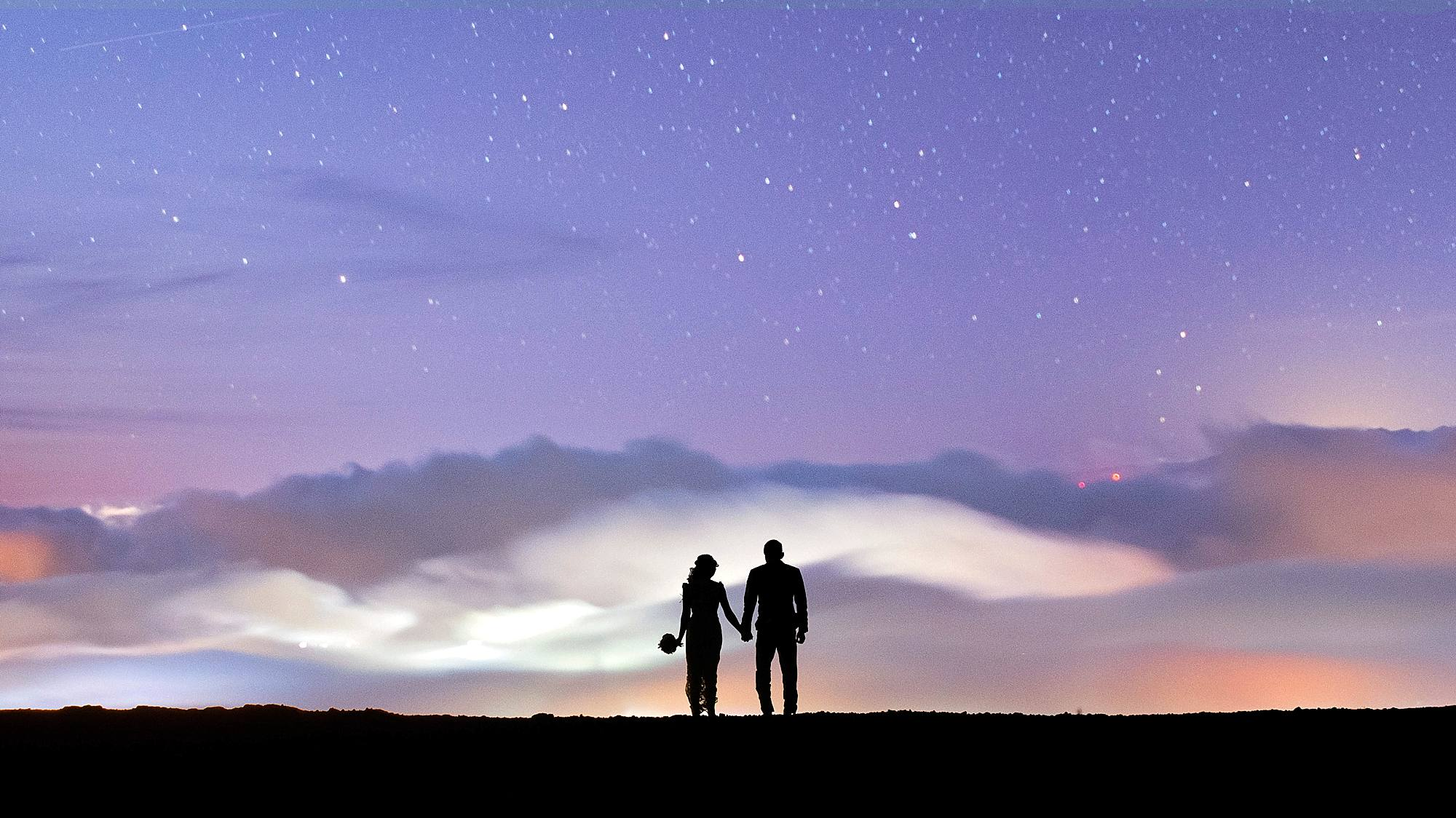 just married with the stars in maui