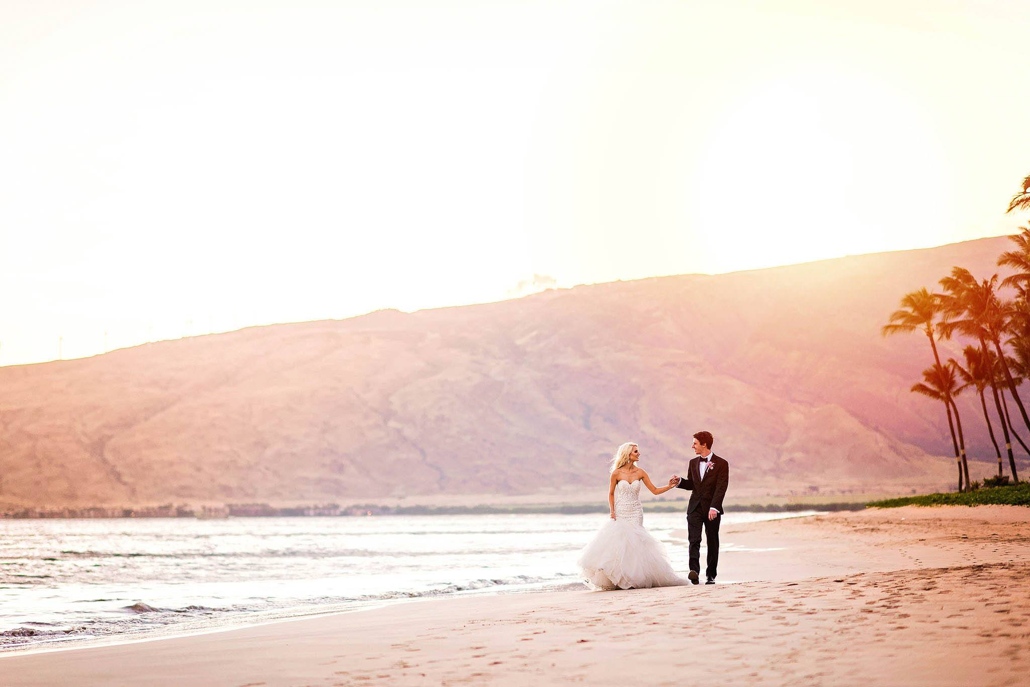 Maui wedding at Sugar Beach Events