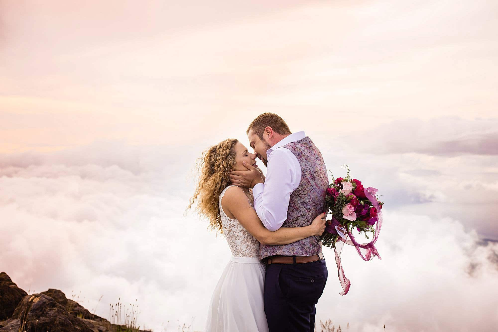 first kiss after husband and wife