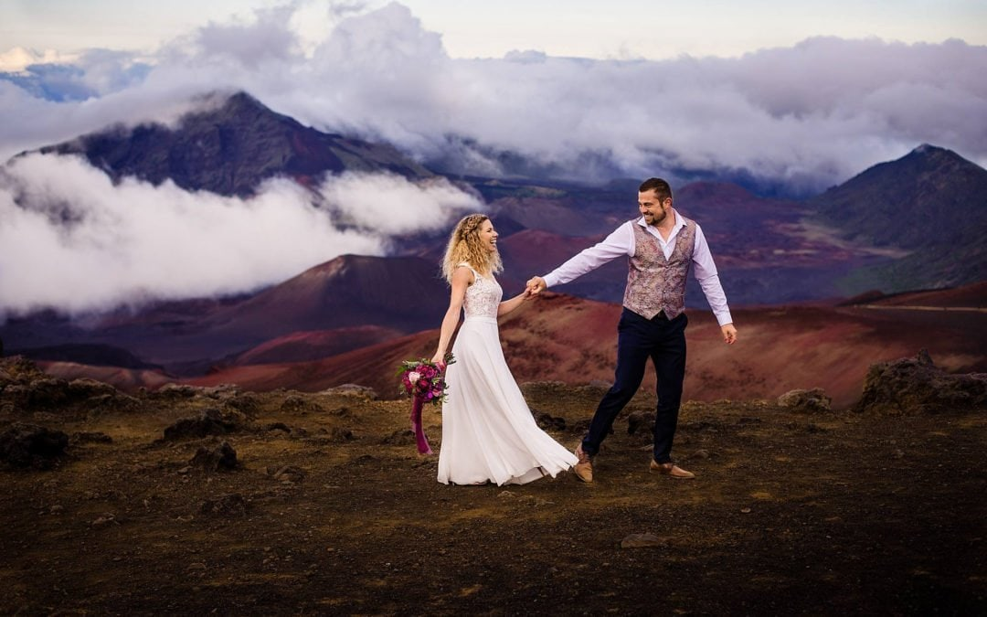Haleakala Wedding | Lydia + Pascal
