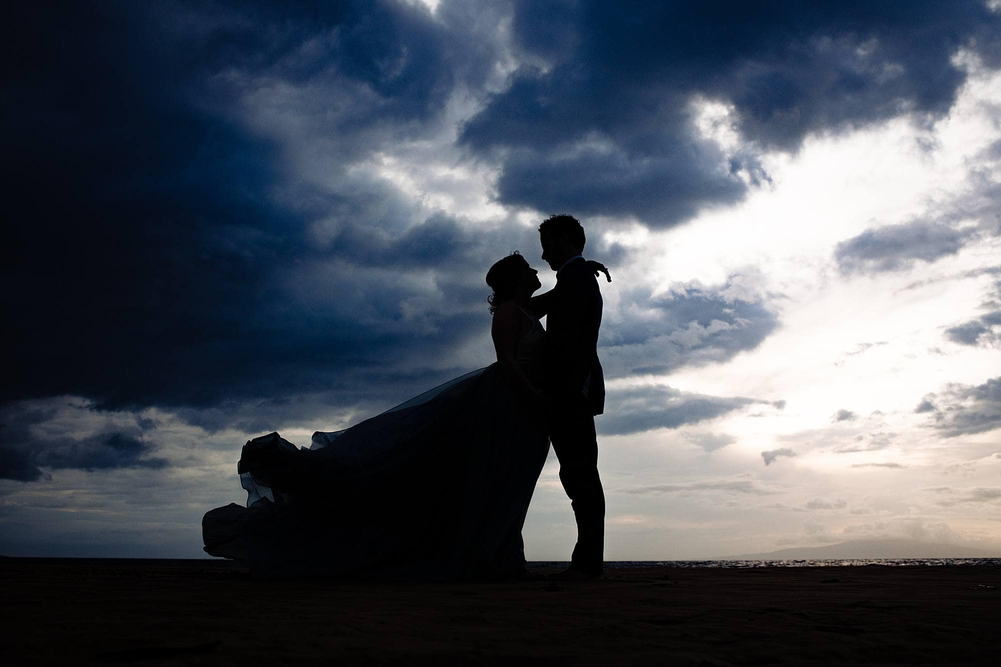 dramatic photo of chantel lauren dress