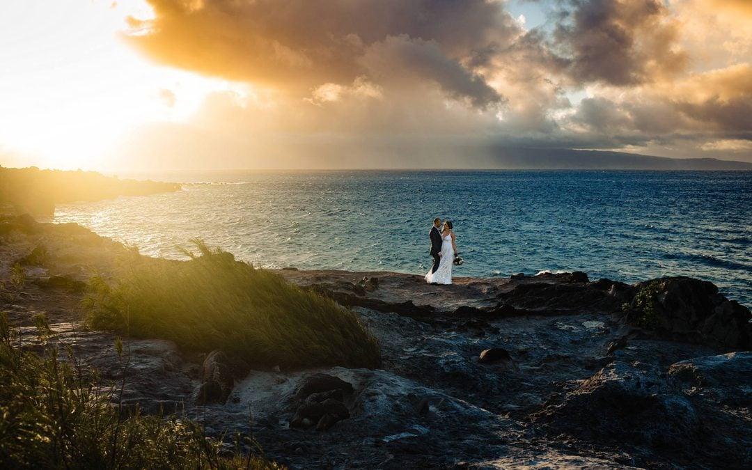 Oneloa Beach Wedding | Krystal + Danny