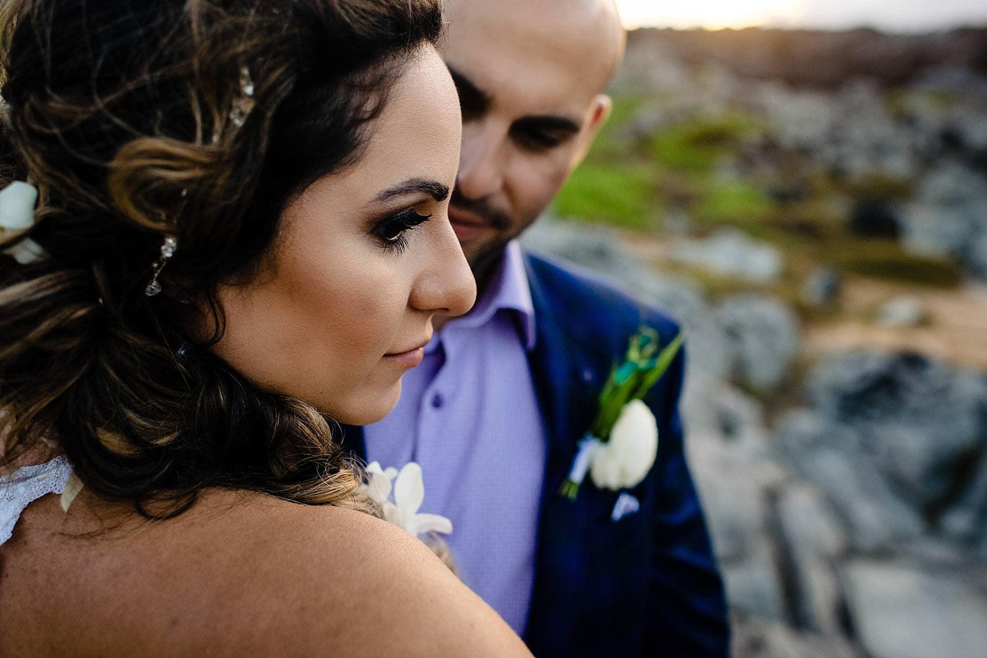oneloa beach elopement