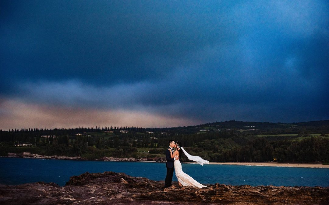 Gorgeous Steeple House Wedding in Kapalua