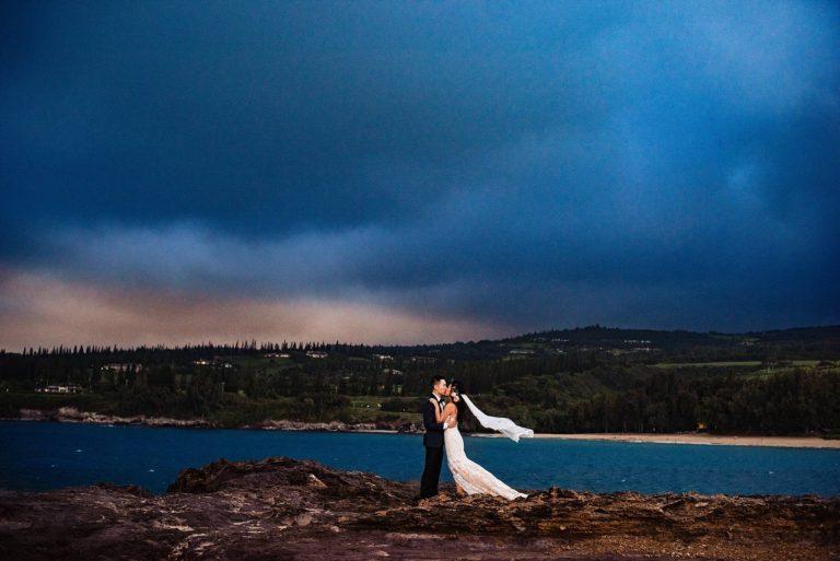Gorgeous Maui Pineapple Chapel Wedding