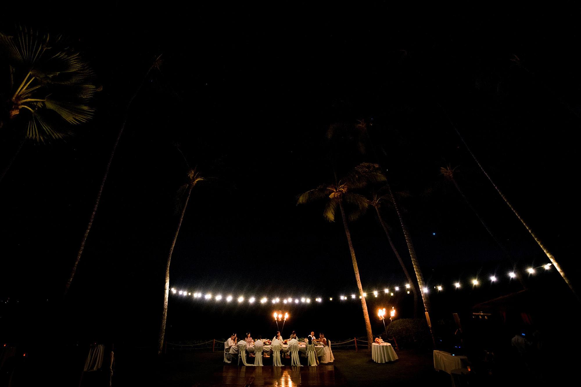 intimate reception at hyatt maui