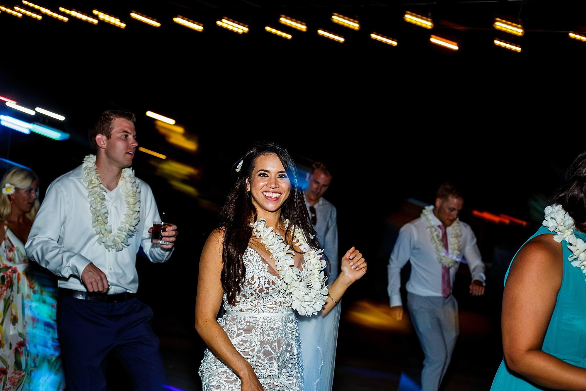 bride dancing at ritz carlton kapalua
