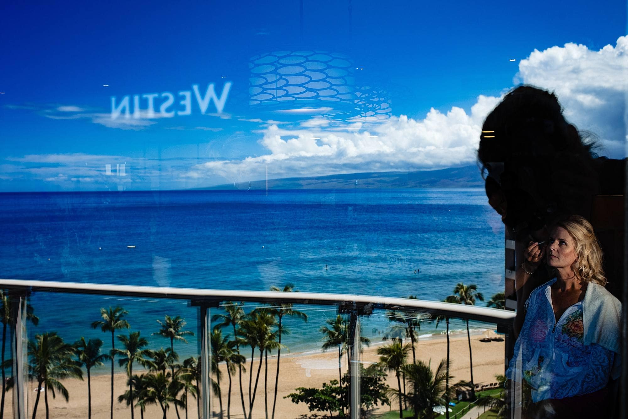bride getting married at Westin Maui