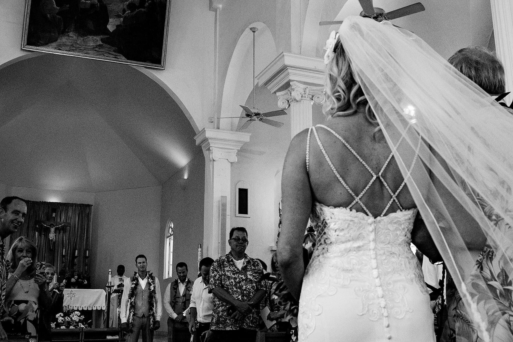 maui wedding at maria lanikila church