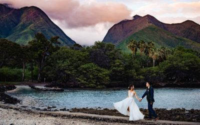 Stunning Olowalu Plantation House Wedding