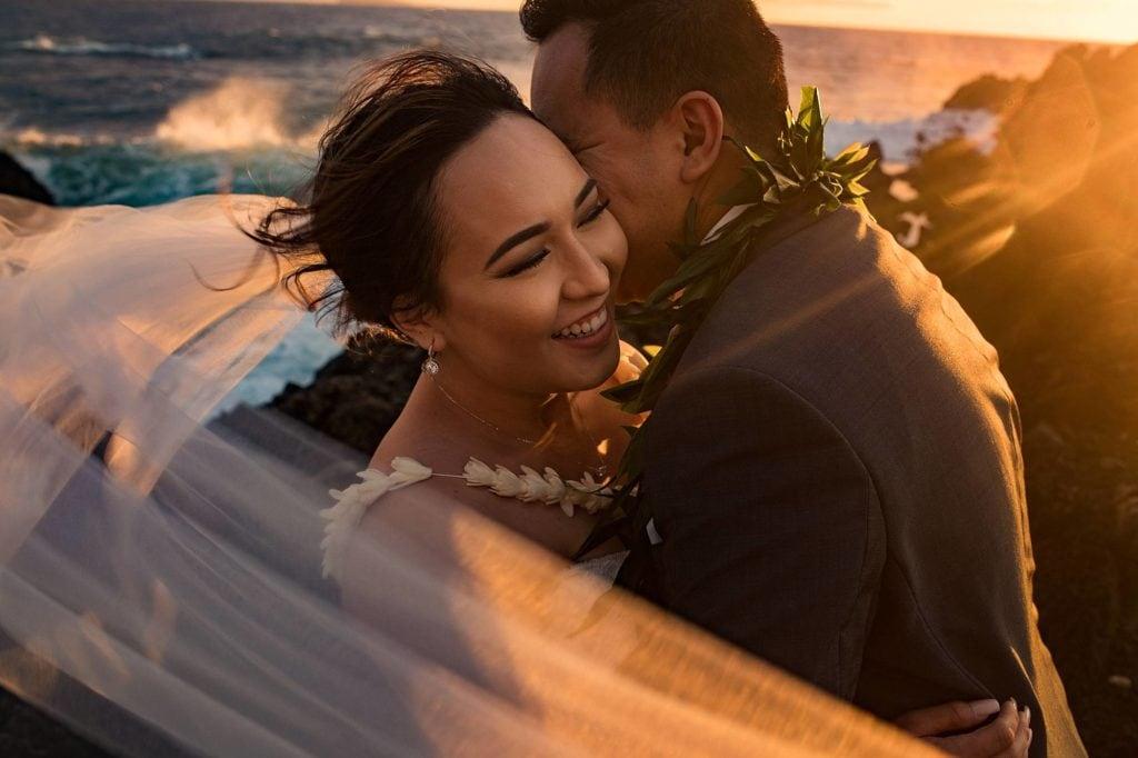 bride at kukahiko estate