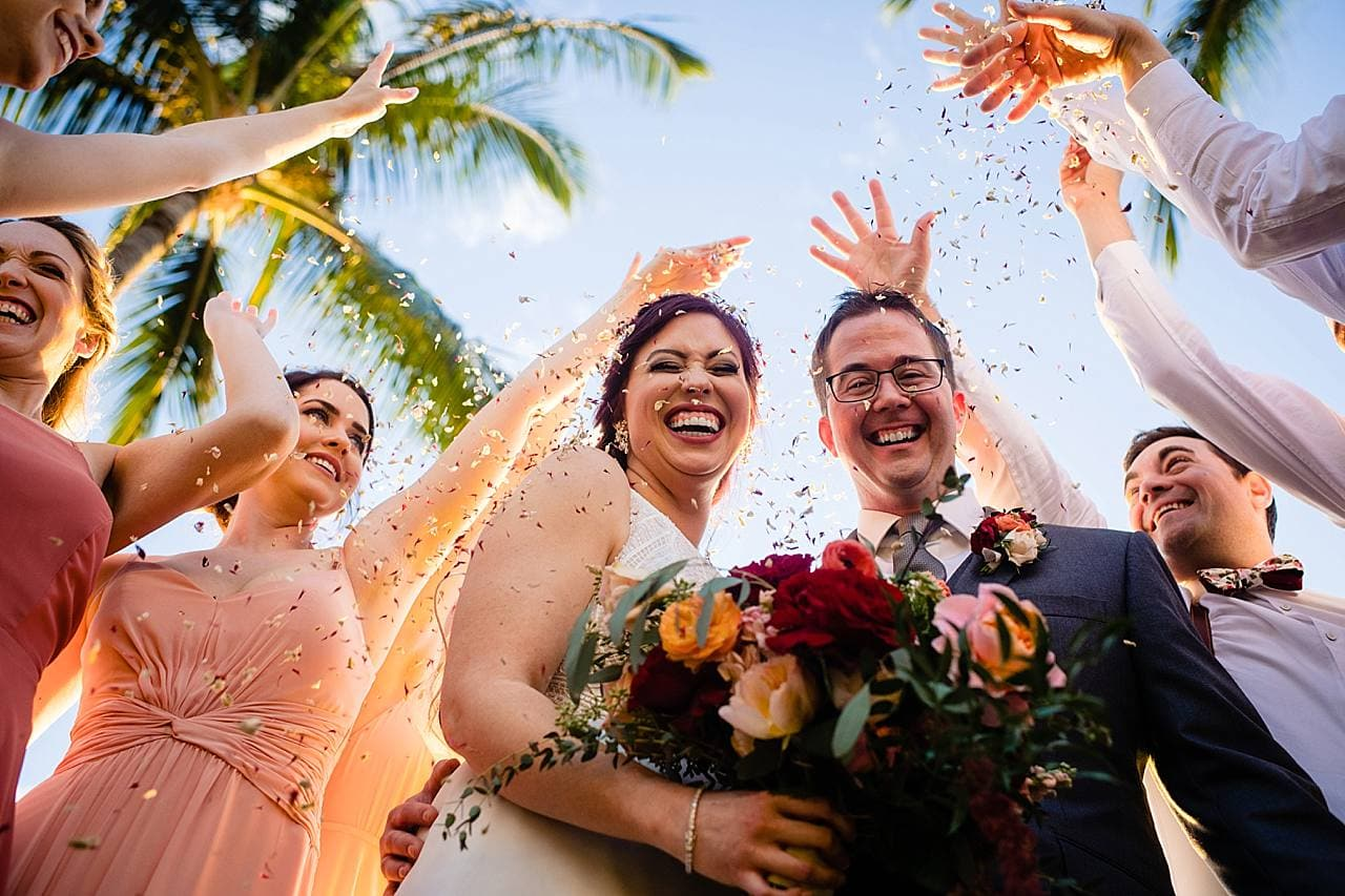 fun bridal party portraits
