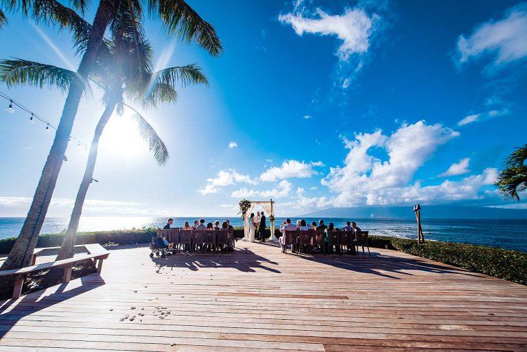 Maui Wedding Venue with Ocean View : Merriman's Kapalua
