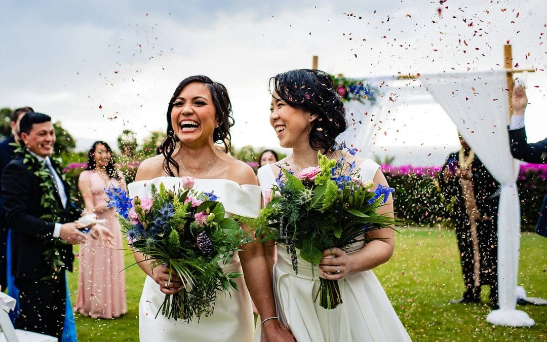 Hotel Wailea Wedding | Alyx + Denise