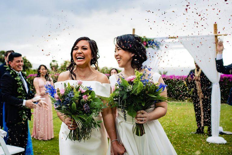 Hotel Wailea Wedding | Alyx + Denise
