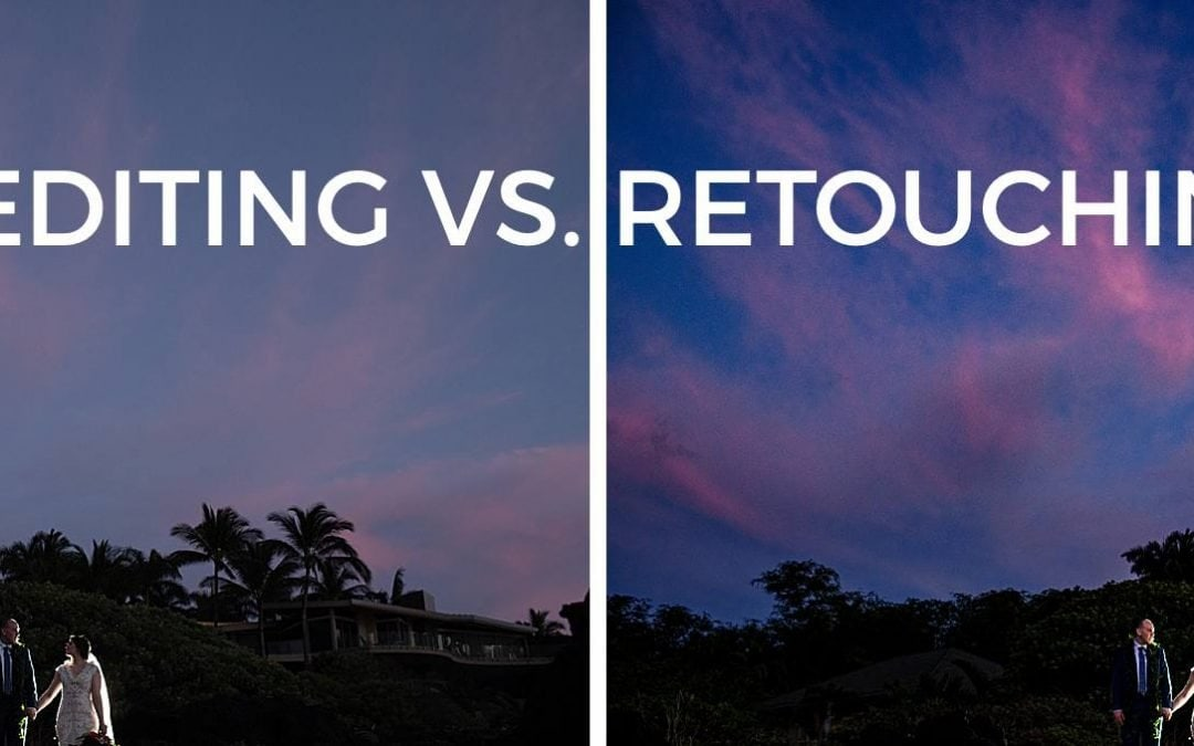 Editing vs. Retouching: What's the difference?