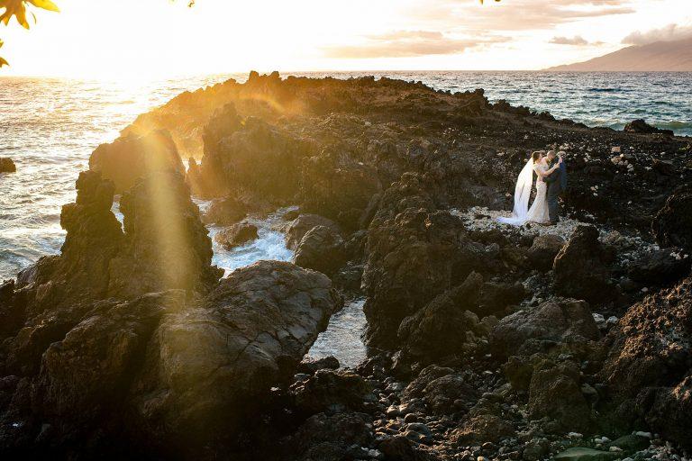 Oceanfront Maui Wedding at Kukahiko Estate – April & Kyle