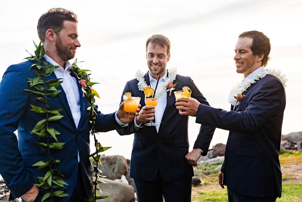 maui groomsman cheers