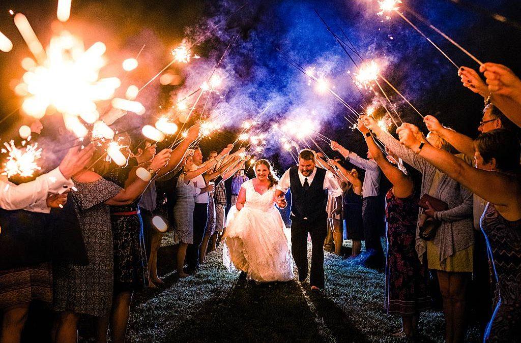 Five Ways to Rock your Wedding Exit